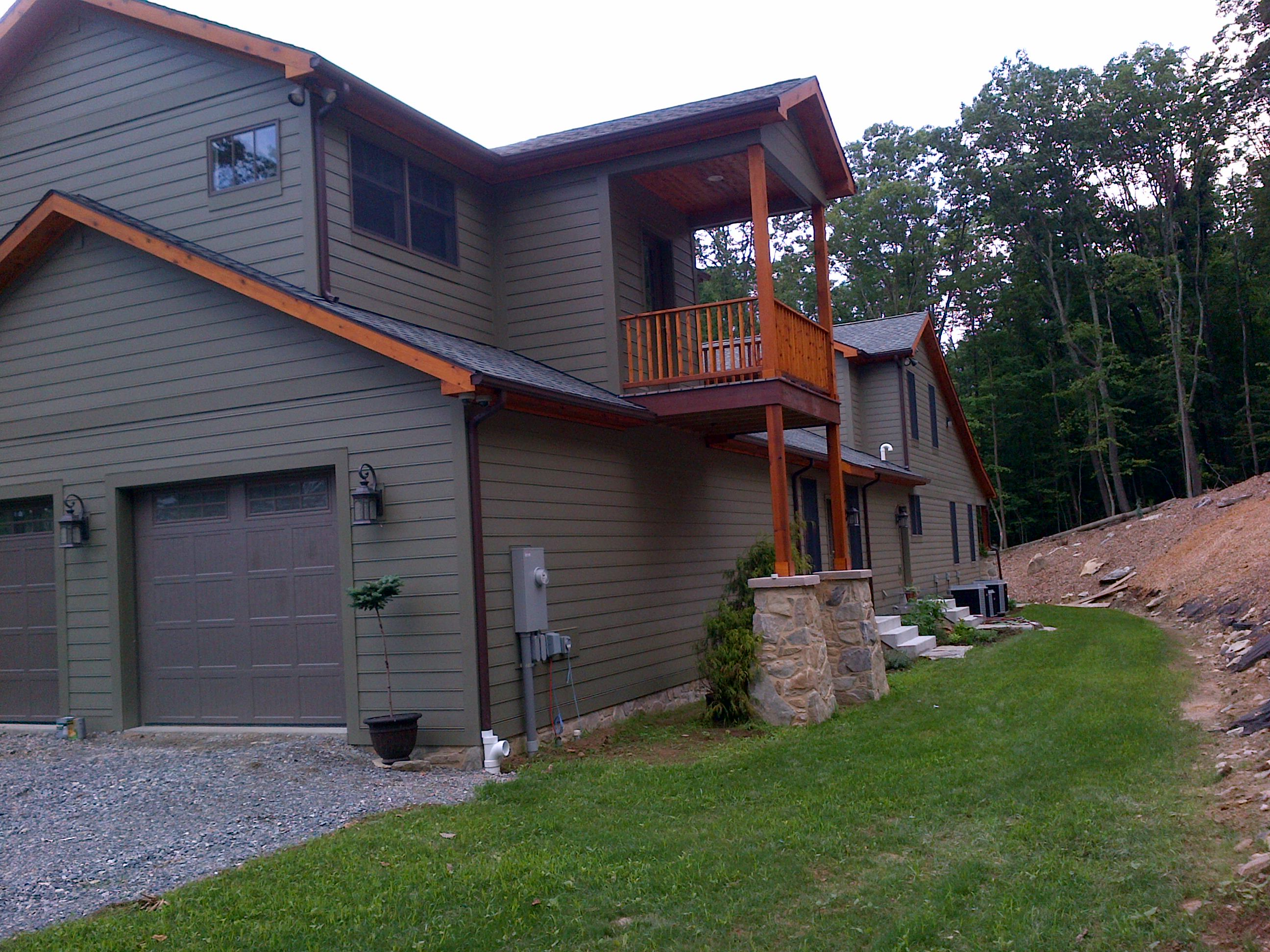 New home construction quality homes of maryland llc for Modern quality homes